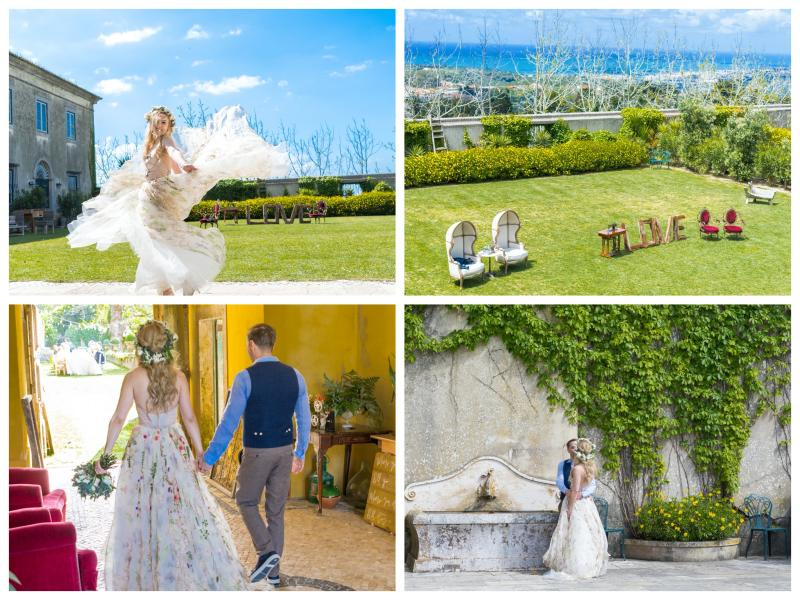 My Vintage Wedding in Portugal at The Quinta