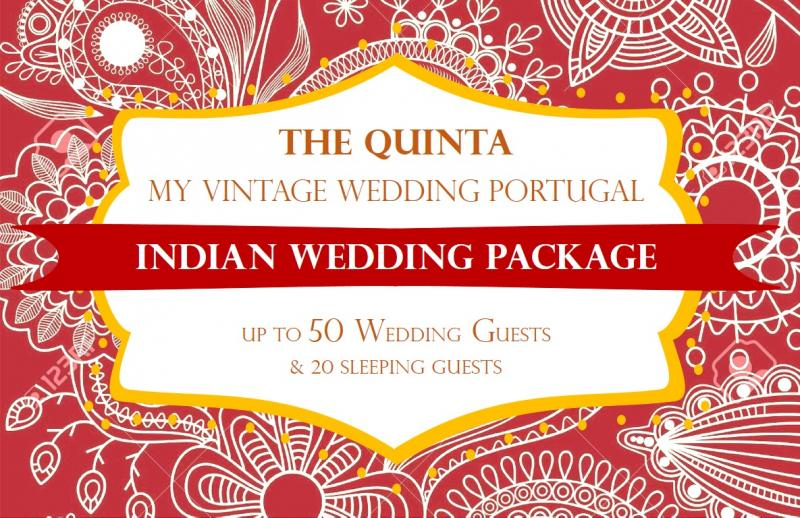 my vintage wedding portugal indian wedding pack