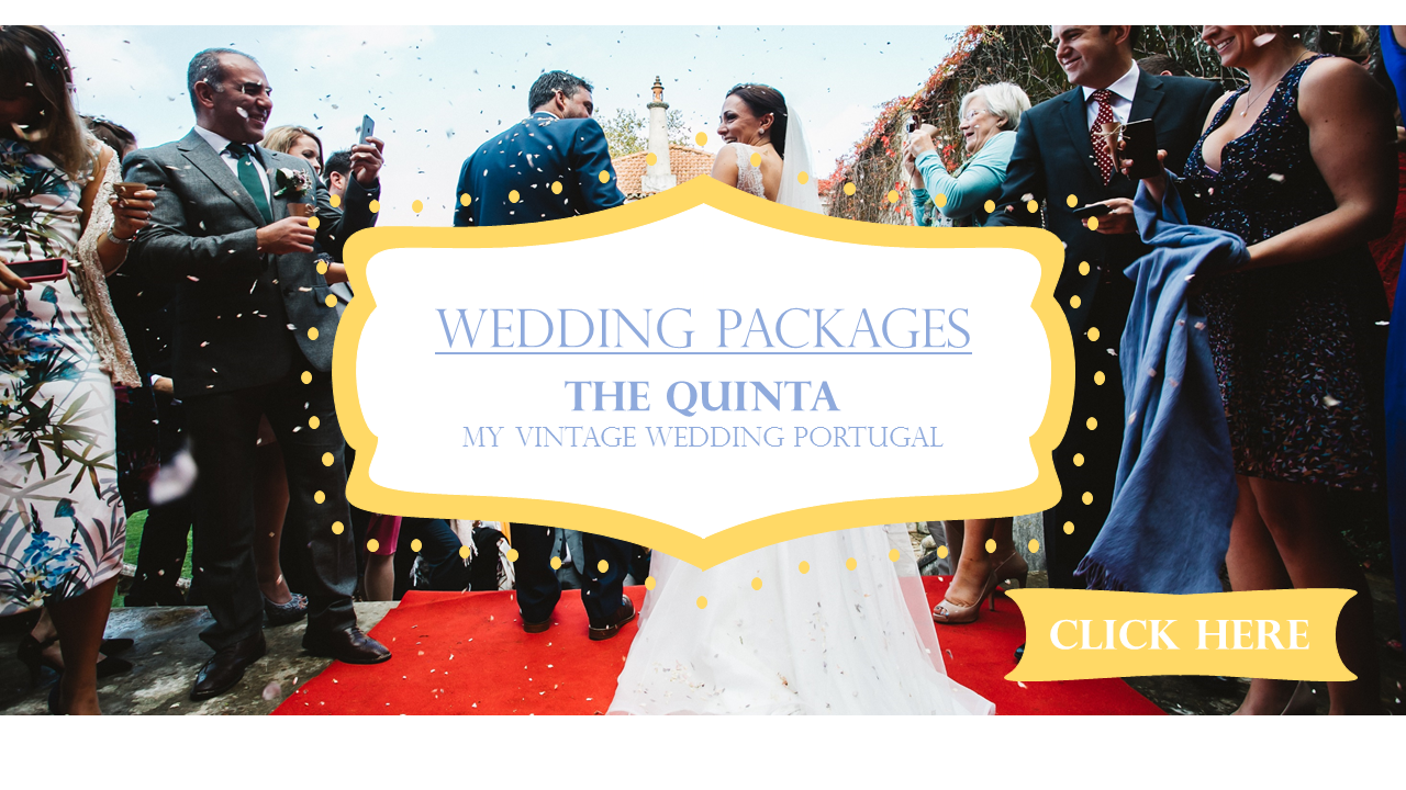 wedding packages vintage wedding portugal